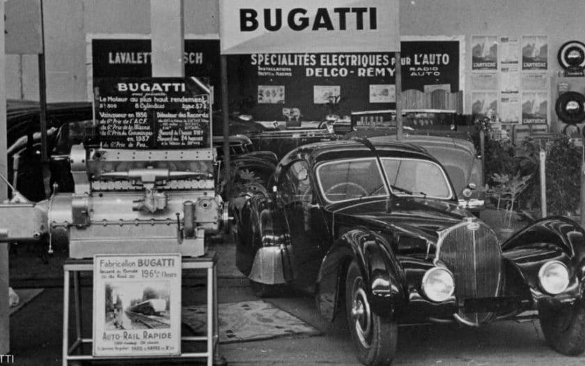 Bugatti Voiture Noire, Type 57 SC Atlantic Coupé
