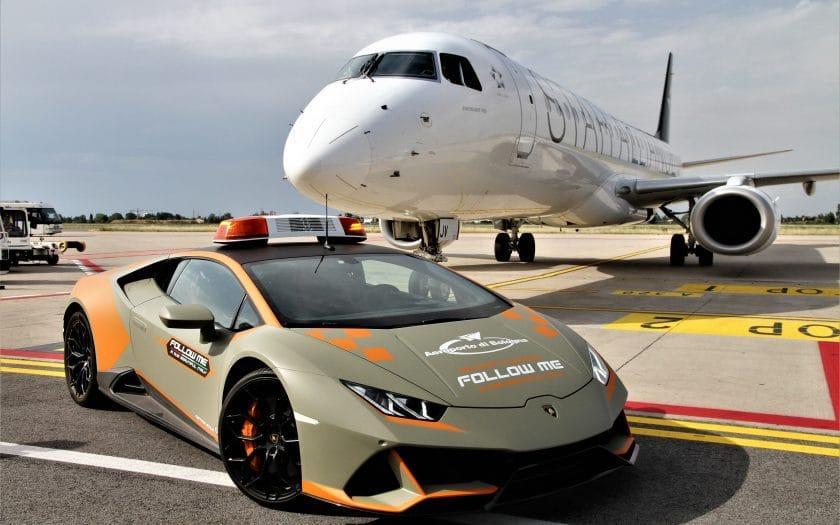 Lamborghini Huracán EVO Follow-Me-Car