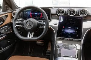 Mercedes-Benz C-Klasse 2021 Innenraum