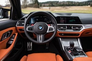BMW M3 Competition Test