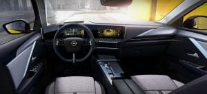 Opel Astra 2021 Innenraum