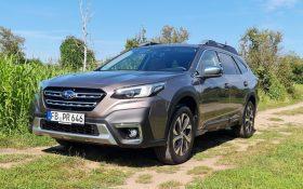 Subaru Outback 2.5i Test