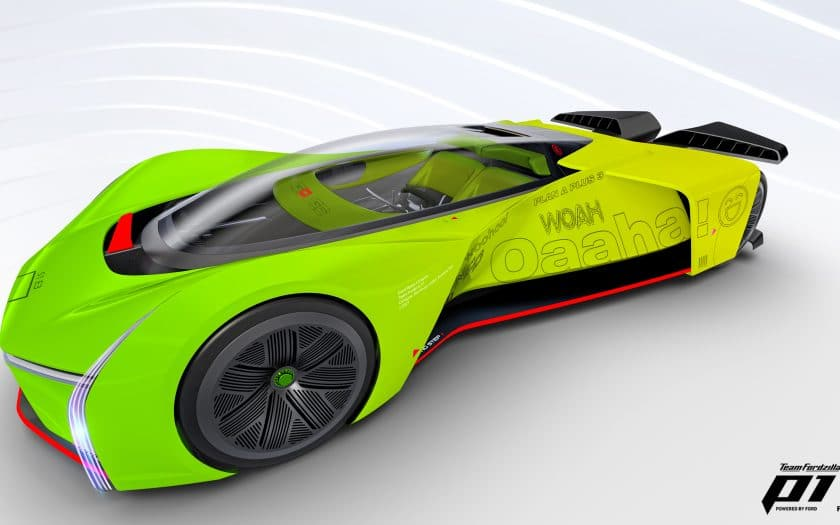 Team Fordzilla P1-Rennfahrzeug
