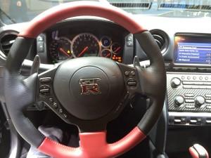 Nissan GTR Innenraum