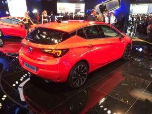 Neuer Opel Astra IAA
