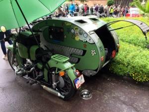 BMW Motorrad Seitenwagen Wohnwagen