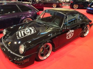 Porsche 911  auf der Essen Motor Show 2015