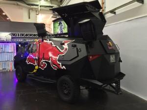 Red Bull Fahrzeug Essen Motor Show 2015