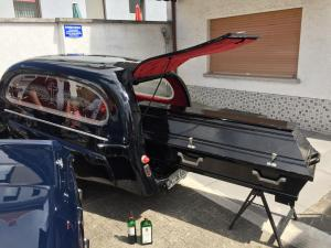 Oldtimer Bestattungswagen